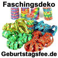 Shopping -News.de - Shopping Infos & Shopping Tipps | Bunte Luftschlangen als klassische Faschingsdeko