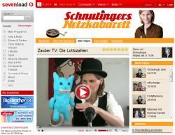 Musik & Lifestyle & Unterhaltung @ Mode-und-Music.de | Foto: Frau Schnutinger macht im Comedykanal auf sevenload die Vorhersage der Lottozahlen.