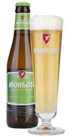 Bier-Homepage.de - Rund um's Thema Bier: Biere, Hopfen, Reinheitsgebot, Brauereien. | Foto: Mongozo Pilsener Flasche und Glas.