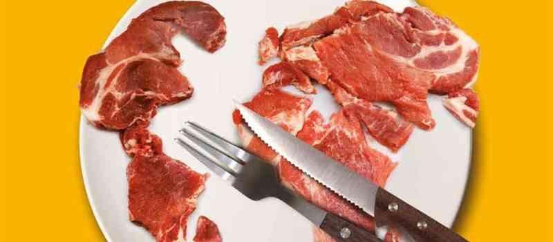 Die Heinrich-Böll-Stiftung und der BUND  veröffentlichen den ''Fleischatlas 2018'' mit Daten, Fakten und Grafiken zu Problemen der industriellen Fleischproduktion und fordern den Umbau der Tierhaltung!