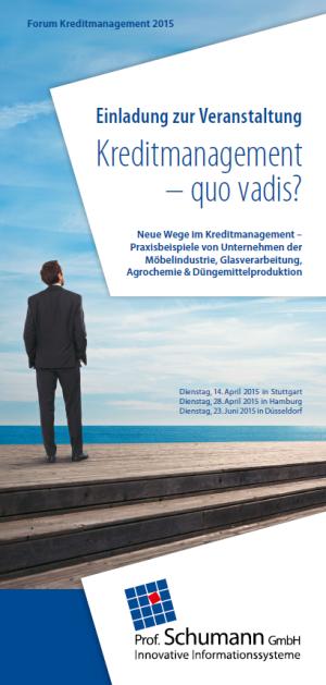 Stuttgart-News.Net - Stuttgart Infos & Stuttgart Tipps | Forum Kreditmanagement 2015 der Prof. Schumann GmbH
