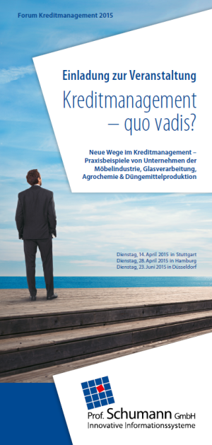 Forum News & Forum Infos & Forum Tipps | Forum Kreditmanagement 2015 der Prof. Schumann GmbH