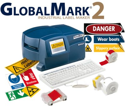 Neue Produkte @ Produkt-Neuheiten.Info | GlobalMark®2- Industrie-Schilderdrucker