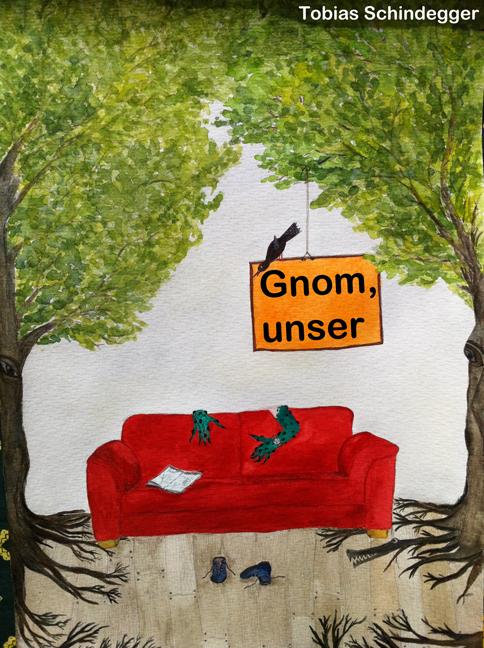 Thueringen-Infos.de - Thüringen Infos & Thüringen Tipps | Titelbild des Fantasy Romans Gnom, unser