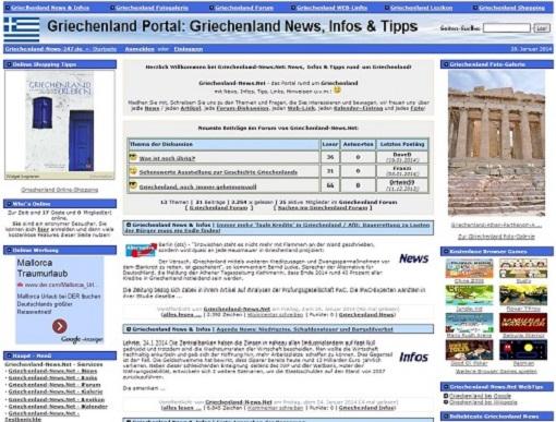 SeniorInnen News & Infos @ Senioren-Page.de | Foto: griechenland homepage