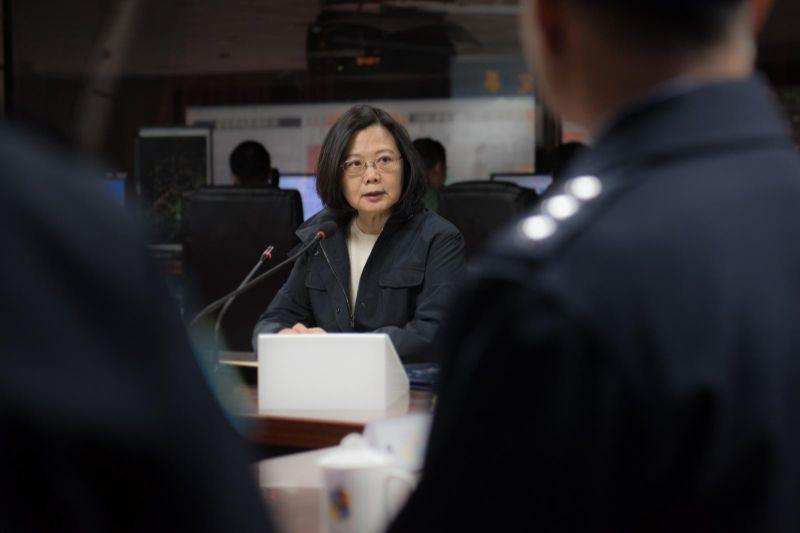 Staatspräsidentin Tsai Ing-wen appelliert an Festlandchina, wegen der einseitigen Einrichtung von vier Flugrouten über die Taiwanstraße am 4. Januar Verhandlungen mit Taiwan aufzunehmen. (Foto mit freundlicher Genehmigung des Präsidialamtes) | Freie-Pressemitteilungen.de
