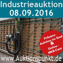Potsdam-Info.Net - Potsdam Infos & Potsdam Tipps | Industrieauktion 08.09.2016 | Auktionspunkt.de