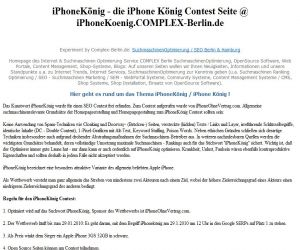 Einkauf-Shopping.de - Shopping Infos & Shopping Tipps | iPhoneKönig SEO Wettbewerb