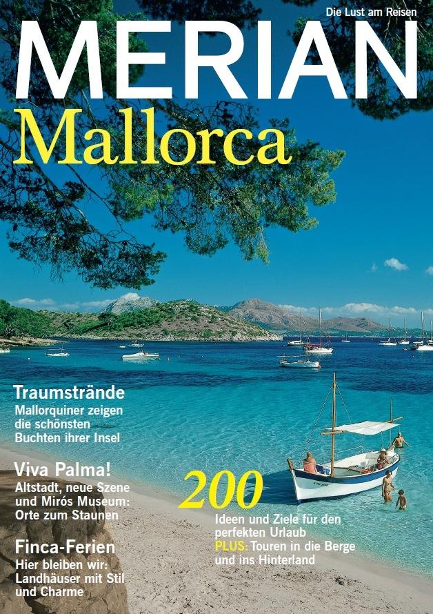 Foto: Titelcover MERIAN 06.15 Mallorca