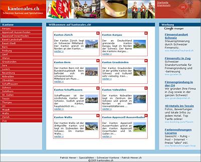 Kantonales.ch | Freie-Pressemitteilungen.de