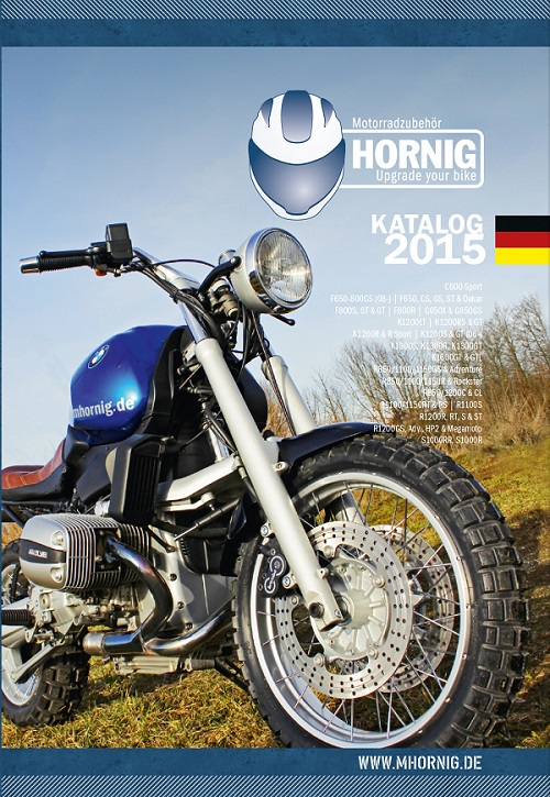 BMW Motorradzubehör Katalog 2015 von Hornig