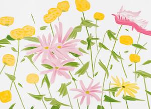 Musik & Lifestyle & Unterhaltung @ Mode-und-Music.de | Alex Katz – Spring Flowers (2017) / Galerie Fluegel-Roncak