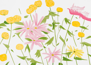 New-York-News.de - New York Infos & New York Tipps | Alex Katz – Spring Flowers (2017) / Galerie Fluegel-Roncak