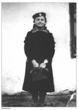 Historisches @ Historiker-News.de | Foto: Elza Reich, ungarisch-jüdische Überlebende des KZ-Außenlagers Markkleeberg / Wolfswinkel