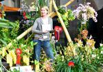Pflanzen Tipps & Pflanzen Infos @ Pflanzen-Info-Portal.de | Foto: Marei Karge-Liphard mit Preisen und Goldmedaille
