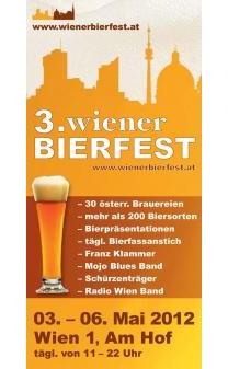 Bier-Homepage.de - Rund um's Thema Bier: Biere, Hopfen, Reinheitsgebot, Brauereien. | Foto: Wiener Bierfest Plakat.
