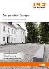 Landwirtschaft News & Agrarwirtschaft News @ Agrar-Center.de | Foto: Speziallösungen für den GaLa-Bau-Experten bietet die PCI-Broschüre >> Fachgerechte Lösungen <<.