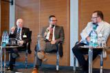 Alternative & Erneuerbare Energien News: Foto: Pol. Diskussionsrunde. v.l.: Klaus Breil (FDP),Dr. Joachim Pfeiffer (CDU/CSU),Reinhard Schultz (BGR).