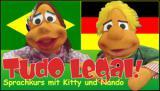 Amerika News & Amerika Infos & Amerika Tipps | Foto: Spielerisch Portugiesisch lernen mit den beiden Handpuppen Kitty und Nando ? nicht nur für Kinder!.