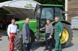 Landwirtschaft News & Agrarwirtschaft News @ Agrar-Center.de | Foto: Von links nach rechts: NG-Berater Ing.F. Hirschmann, Franz Mauer – Technikbereichsleiter, Dir. Rudo