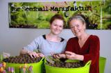 Orchideen-Seite.de - rund um die Orchidee ! | Gesine und Ulrike Struck von der Seedball-Manufaktur. Foto: KLICK-Germany.