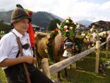 Landwirtschaft News & Agrarwirtschaft News @ Agrar-Center.de | Foto: Die ganze Familie beteiligt sich am Schmücken der Kühe.Bildnachweis: Tourismusverband Tannheimer Tal.