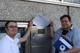 Schleswig-Holstein-Info.Net - Schleswig-Holstein Infos & Schleswig-Holstein Tipps | vl. Mario Mercurio, Stefan Pfeil; Crewsprecher Siegburgpiraten