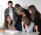 Foto: Im Unterricht an der Übersetzer- und Dolmetscherschule Köln.