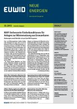 Landwirtschaft News & Agrarwirtschaft News @ Agrar-Center.de | Foto: EUWID Neue Energien 33/2012.