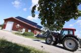 Landwirtschaft News & Agrarwirtschaft News @ Agrar-Center.de | Foto: Einer der Themen-Schwerpunkte auf dem EuroTier-Stand: Solarthermie-Einsatz in der Landwirtschaft..