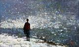 Ost Nachrichten & Osten News | Foto: HONG, Chon Song / Chorus of Swans, 2013, Öl auf Leinwand, 78 x 127cm