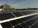 Zoo-News-247.de - Zoo Infos & Zoo Tipps | Foto: Das Dickhäuterhaus wurde mit insgesamt 239 Solarmodulen ausgestattet.