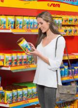 Aquaristik-Infos-247.de - Aquaristik Infos & Aquaristik Tipps | Dank minimiertem Materialeinsatz sind die neuen Verpackungen besonders umweltfreundlich. Foto: sera