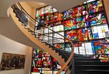Ost Nachrichten & Osten News | Markenzeichen im Steiger am Landhaus: Die unter Denkmalschutz stehende Glassfassade. Foto: Gasthaus