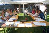 Drehbücher @ Drehbuch-Center.de | Foto: Das eigene Schreiben reflektieren und diskutieren © RKA
