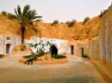 Afrika News & Afrika Infos & Afrika Tipps @ Afrika-123.de | Foto: Wohnhöhlen in Tunesien.