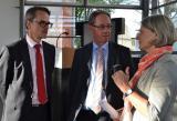 Tunesien-News.de - Tunesien Infos & Tunesien Tipps | Foto: Geschäftsführer W. Dittmann, Prof. Dr. F. Egle, Präsident, Dr. U. Freundlieb, Bgm, Foto: F. Motzko