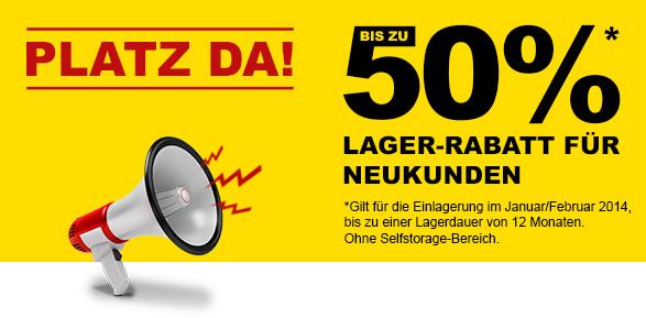 News - Central: Lagerrabatt Umzugsunternehmen Berlin