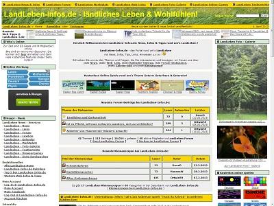 Foto: Screenshot LandLeben-Infos.de
