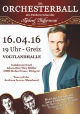 Thueringen-Infos.de - Thüringen Infos & Thüringen Tipps | Foto: Ab sofort Kartenvorverkauf für den Orchesterball 2016 in Greiz.