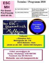 Deutsche-Politik-News.de | Foto: Flyer ESC-Stammtisch