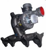 Autogas / LPG / Flüssiggas | Foto: Turbolader aus Golf 1,9 TDI.