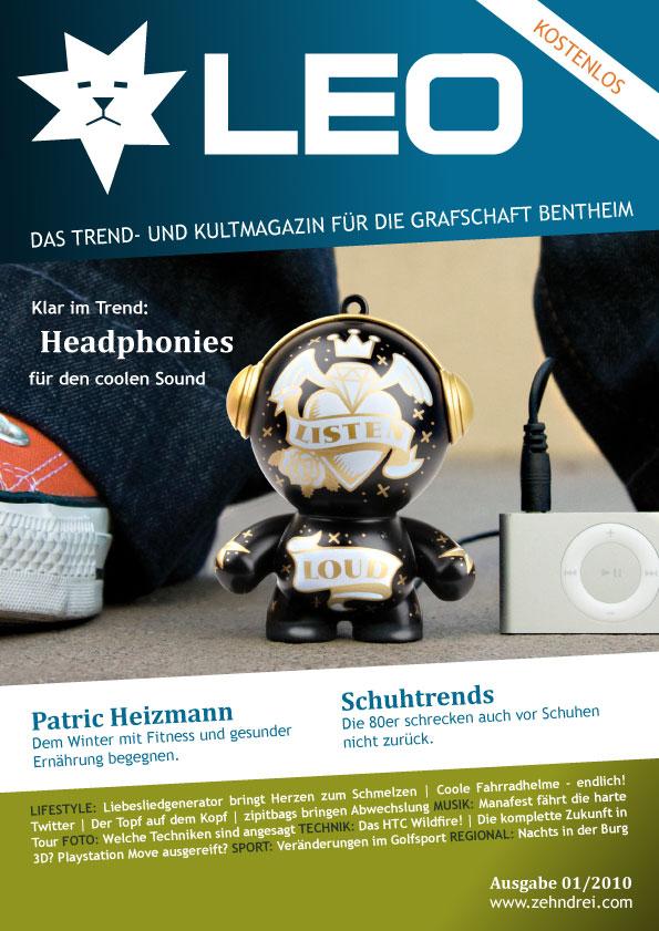 Chat News & Chat Infos @ Chats-Central.de | Titelseite von LEO - Ausgabe 1
