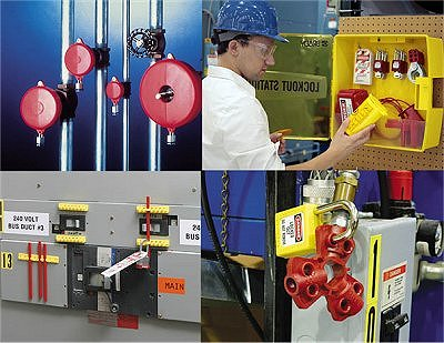 Neue Produkte @ Produkt-Neuheiten.Info | Lockout Tagout Systeme für mechanische und elektrische Gefahren
