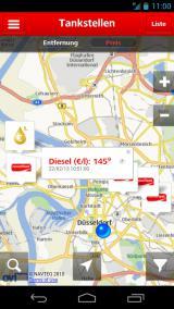 Autogas / LPG / Flüssiggas | Foto: Die neue NOVOFLEET App bietet erweiterte Suchkriterien und zeigt erste Spritpreise in Echtzeit an.