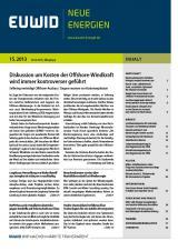 Schwerin-Infos.de - Schwerin-Infos Infos & Schwerin-Infos Tipps | Foto: EUWID Neue Energien 15/2013 ist am 10. April erschienen.