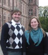 Recht News & Recht Infos @ RechtsPortal-14/7.de | JuLi-Bezirksvorsitzende Laura Wamprecht und JuLi-Spitzenkandidat Joachim Klein