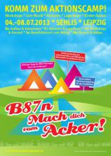 Sachsen-News-24/7.de - Sachsen Infos & Sachsen Tipps | inladung zum Campen: B87n - mach dich vom Acker!