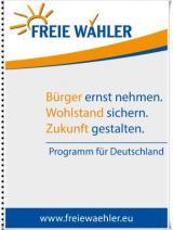 Kanada-News-247.de - USA Infos & USA Tipps | Das Wahlprogramm der Partei FREIE WÄHLER auf www.FreieWaehler.eu