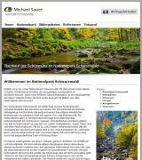 Bildergalerien News & Bildergalerien Infos & Bildergalerien Tipps   Foto: Neue Website des Naturfotografen Michael Sauer mit Bildern aus dem Nationalpark im Nordschwarzwald.